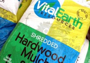 Vital Earth Hardwood mulch
