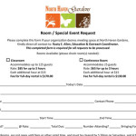 Request a room for your garden club or group