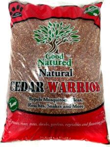 Cedar-Granules deter mosquitoes