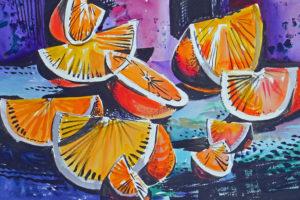 'Citrus-II' by Naomi Brotherton