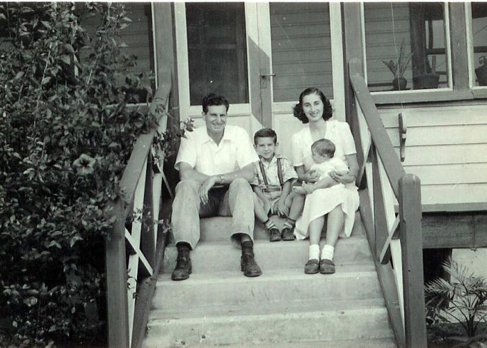 The Pinkus Family in Guatemala.