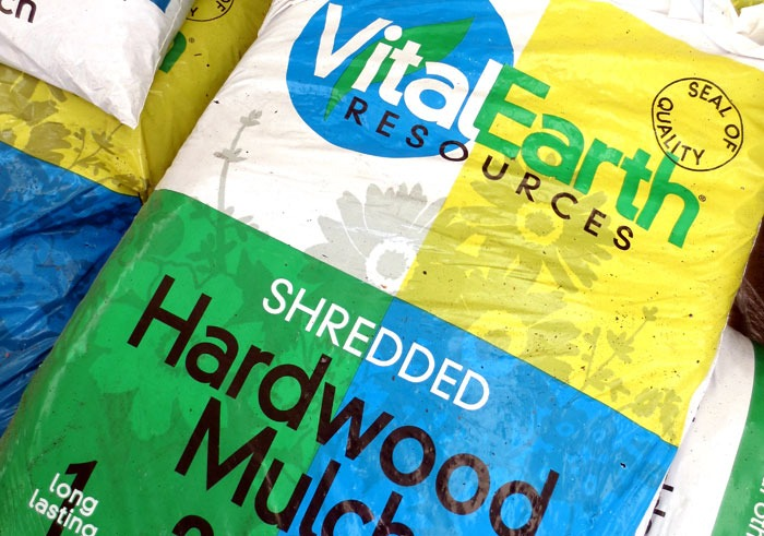 Vital Earth Hardwood mulch
