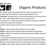 Organic products at North Haven Gardens