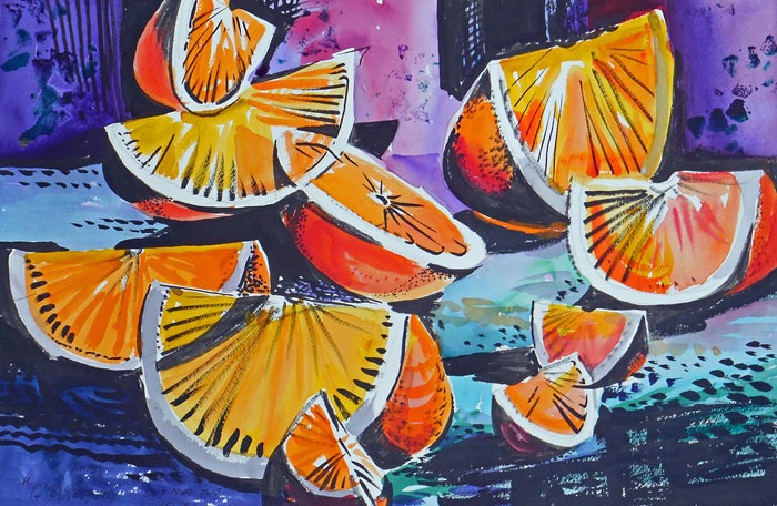 'Citrus-II' by Naomi Brotherton