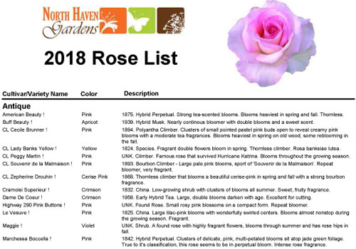 Rose-List2018